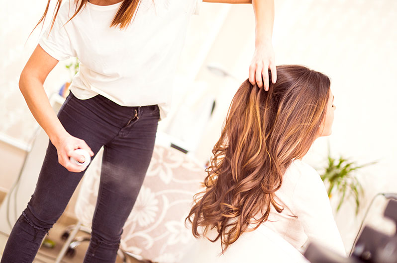 Almaz Salon and Spa Hair Styling